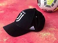 Бейсболка с логотипом Ювентус для  мужчин и женщин Черная