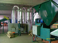 Линия по производству брикет типа Pini-Key