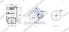 Пневморессора со стаканом в сборе (сталь) 4882N1P05 MAN F2000, TGA/TGM/TGS/TGX (1шп.М12+2штуц.М16х1.5 1отв.М18х2) (d260x360) \81436006036 \ SP, фото 2