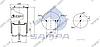 Пневморессора со стаканом в сборе (сталь) 4913NP02, SCANIA 4 series (2 штыря D=12мм,1отв.М16х1.5мм) (d320x350) \1379392 \ SP 554913-K, фото 2