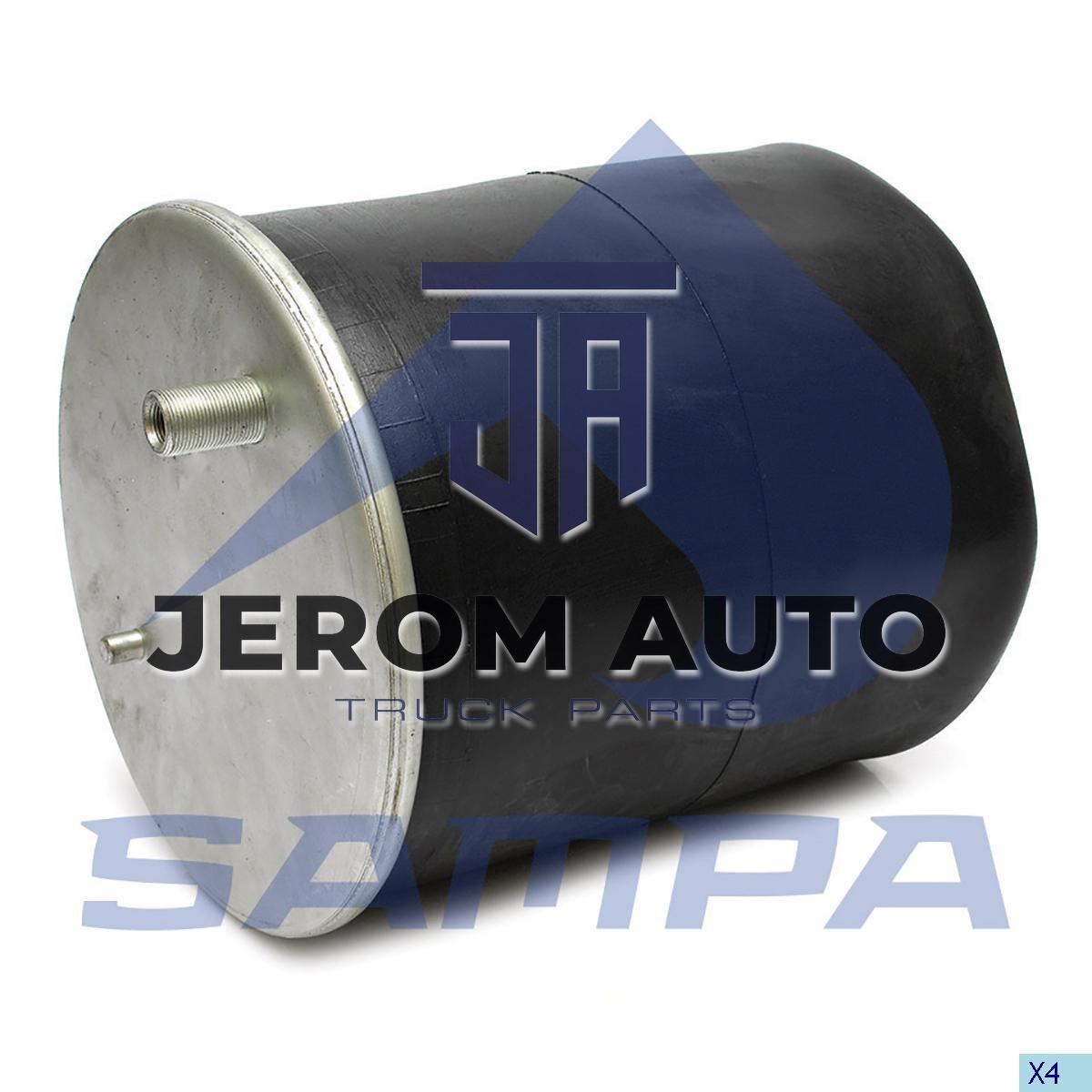 Пневморессора без стакана 4915NP03, Renault Premium, Magnum до 2000г. Задняя (d240x537) \5001855856 \ SP 554915