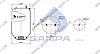 Пневморессора без стакана 4915NP03, Renault Premium, Magnum до 2000г. Задняя (d240x537) \5001855856 \ SP 554915, фото 2