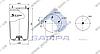 Пневморессора без стакана BPW 36-2, 4942NP02 (2шп. M12, (смещ 25) , 1штц. M22x1,5) (d311x789) \0542941090 \ SP 554942, фото 2