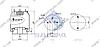 Пневморессора со стаканом в сборе (сталь) SCANIA 4-seria (2 шп.M10,2 шп. М11.9 1шп.-шт. M12х1.5мм) \1386198 \ SP 556198-K, фото 2