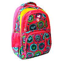 Рюкзак шкільний Navigator Серця, 44*31*16 см