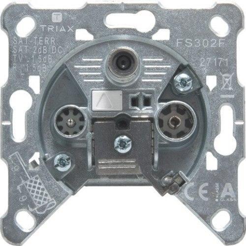 Механизм розетки TV-R-SAT FS 302 F Gira
