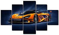 Модульна картина Спорткар McLaren Код: W3940