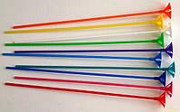 Палочка держатель для воздушного шарика разноцветная