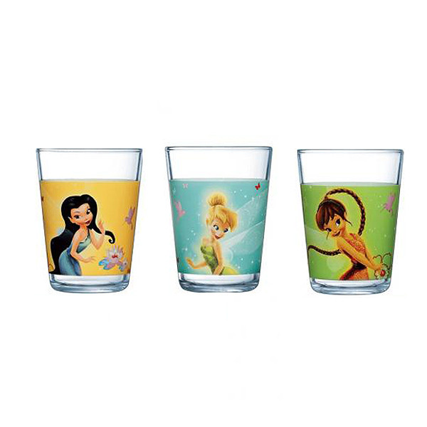 Набор из 3 стаканов 160 мл Luminarc Fairies Butterfly