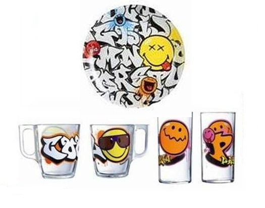 Детский набор Smiley World Graffity 3 пр LUMINARC