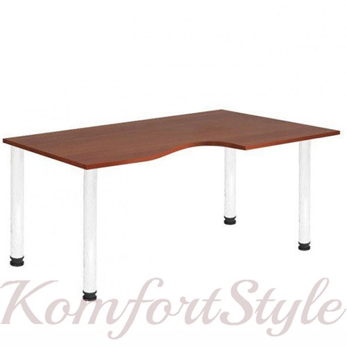 Письмовий стіл керівника фігурний М-251Т, 252Т, 253Т, 254Т