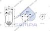 Пневморессора без стакана SCHMITZ 1DK23L-1S (2отв.M10+штуцер M22х1.5,низ отв.M12мм) высокая \016512S \ SP 556318, фото 2