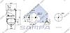 Пневморессора со стаканом в сборе (сталь) 6600NP02 VOLVO FH (d238x237 mm) \1076420 \ SP 556420-K01, фото 2