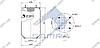 Пневморессора без стакана 810 MB/O, ROR, SAF (4 шп. M12, 1 отв. штуц. M22х1.5мм) \SP 55810, фото 2