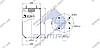 Пневморессора без стакана SAF/Trailor/МАЗ/ROR, 813MB/O (4 шп. M12, 1отв. штуц. M22х1.5мм) \SP 55813, фото 2