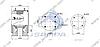 Пневморессора со стаканом в сборе (пластик) SAF/Trailor/МАЗ-5440,6430/ROR, 813MB (4 шп. М12, 1 отв. M22х1.5мм) (d305x420) \SP 55813-KP, фото 2