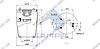 Пневморесора без склянки DAF 95, 836MB (3 шп., 1шт. М16х1.5мм з відбійником) (d265x375) \0513985 \ SP 55836-04, фото 2