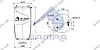 Пневморессора без стакана 887MK1, DAF CF85 задняя (3 шп.,1 штуц. M16х1.5мм) (d226x403) \0513983 \ SP 55887, фото 2