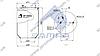 Пневморессора без стакана DAF 902MBS (d201xd300x430 mm) \5010211724S \ SP 55902, фото 2
