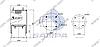 Пневморессора со стаканом в сборе (сталь) FRUEHAUF 912NP02, SAF, ROR 4 шпильки-воздух \M060770 \ SP 55912-K, фото 2