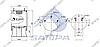 Пневморессора со стаканом в сборе (сталь) Schmitz, Mercedes 1DK28F3, 1R14-823 (2 шп.+возд. 8 отв.) \9463281501 \ SP 559283-K, фото 2