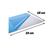 Акрилове дзеркало 15×15 см × 0.2 мм срібло 1 шт, фото 4