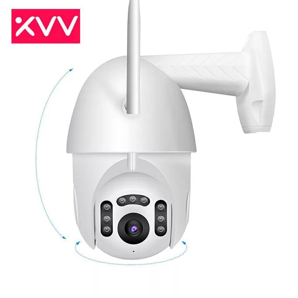Профессиональная поворотная погодозащитная IP WiFi камера XiaoVV B7 Onvif Cloud. V380Pro