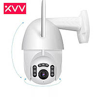 Профессиональная, поворотная, погодозащитнаяPTZ IP Wi-Fi камера XiaoVV B7, Onvif,IR. Cloud. V380Pro