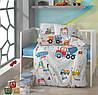 Детское постельное белье в кроватку Clasy™ Graffe 100x150см