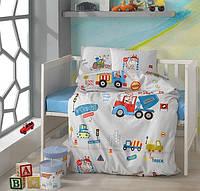 Детское постельное белье в кроватку Clasy™ Graffe 100x150см, фото 1