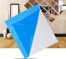 Акриловое зеркало 15×15 см × 0.2 мм серебро 1 шт