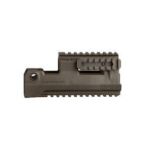 Оригинал Полимерное цевье АК с рельсами - IMI HRS AK47/AK74 Handguard Rail System Picatinny Rail Чорний