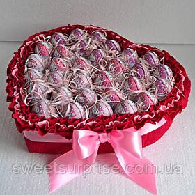 """Оригінальний подарунок для коханої """"Солодке серце"""" (31)"""