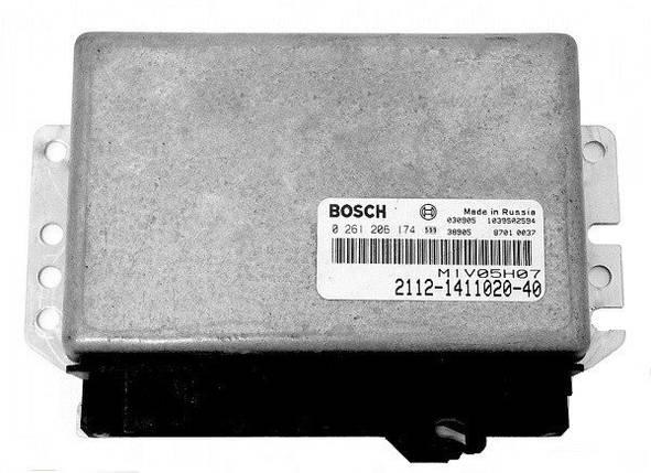 Электронный блок управления ЭБУ BOSCH 2112-1411020-40, фото 2