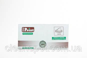 Салфетка 3сл 33см темно зеленая Eco Point