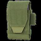 Оригинал Подсумок для смартфона молле Condor Tech Sheath Plus 191085 Coyote Brown, фото 3