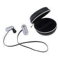 Наушники беспроводные вакуумные AT-BT33 Sports Wireless Bluetooth V4.0 серебро
