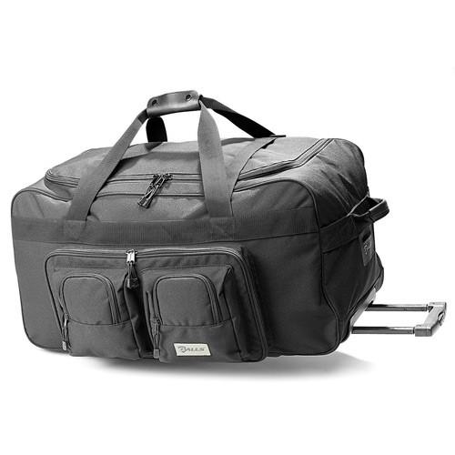Galls StreetPro X-Tra Rolling Gear Bag BG198 Чорний