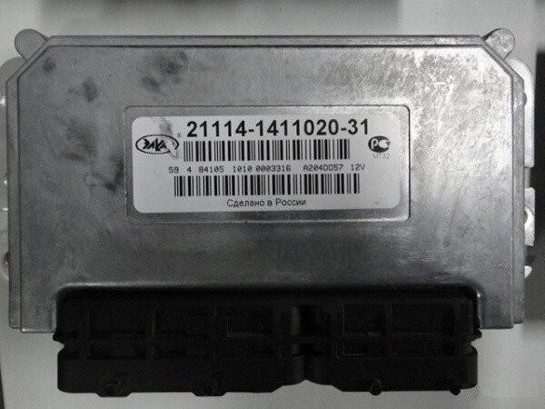 Электронный блок управления ЭБУ АВТЭЛ 21114-1411020-31 программируемый