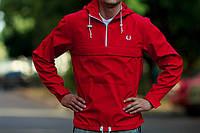 Мужская куртка анорак FP красный