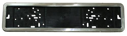 Рамка под номер нержавейка PH-60050