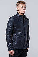 Темно-синяя куртка осенне-весенняя мужская молодежная модель Braggart Youth
