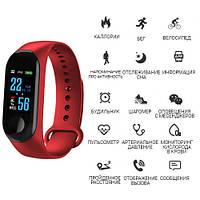 Фитнес-браслет M3, red