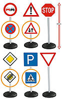 Детский игровой набор Дорожные Знаки Big 1198 (дитячий ігровий набір дорожні знаки), фото 1