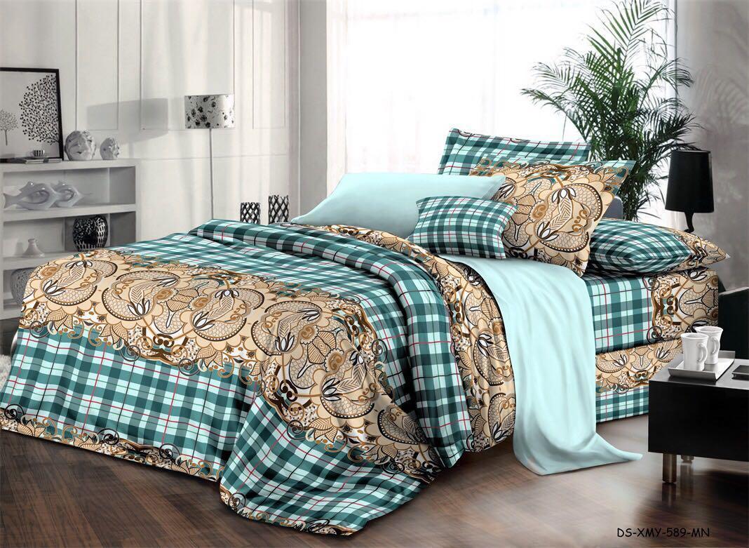 Комплект полуторного постельного белья Eva