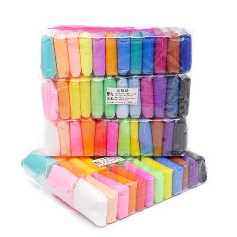 Глина для слаймов (набір 36 кольорів)