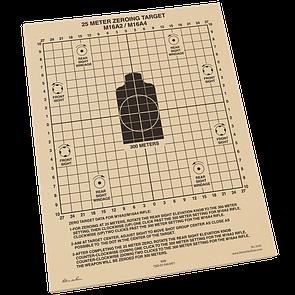 Оригинал Всепогодные мишени для пристрелки М16 Rite In The Rain 9125 25 METER ZEROING TARGET 10 шт.