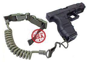 Kley-Zion Tactical Pistol Lanyard w/ Belt Loop Attachment KZ-PL Олива (Olive)