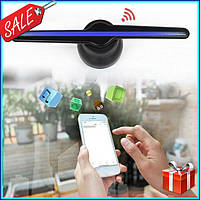 Голографический 3D проектор вентилятор Holographic FAN / Голографический 3d проектор вентилятор + подарок