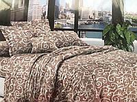 Комплект евро постельного белья Eva, Украина